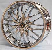 OX Wheel - 631 Chrome