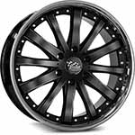 SSW Performance Wheels - S172 Fortune Black