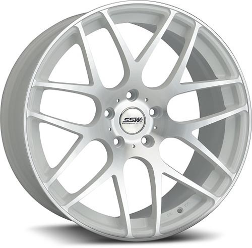 SSW Performance Wheels - LXM-1 M-Spec White
