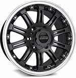 SSW Performance Wheels - S151 Granite Matt Black