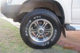 Alloy Wheels 2004 Toyota Hilux SR5  Allied Wheels Jungle 16in