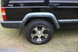 Alloy Wheels Jeep Cherokee XJ  Allied Wheels Wasp Black 15in