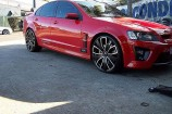 Alloy Wheels 2009 Holden HSV R8  22in Advanti Tourer Black