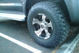 Alloy Wheels Toyota Hilux  Allied Wheels Wasp Black